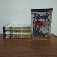 BEKAS SET SAMPUL - Buku Komik Ragnarok - Lee Myung Jin