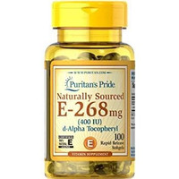Puritan's Pride Vitamin E 400 IU Puritan S isi 100 Softgels Puritans