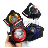 Veloscope Corong Flow Booster Filter Udara Variasi Yamaha NMax Carbon