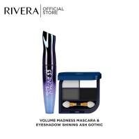 Rivera Volume Madness Mascara + Rivera Eyeshadow