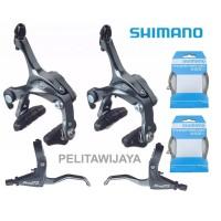 Groupset Ubrake Shimano Tiagra Gust Troy Sepeda Lipat