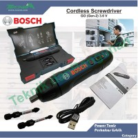Cordless Screwdriver BOSCH GO (Gen-2) 3.6 V