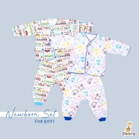 Blessing babywear-baju bayi tangan panjang dan cln panjang-NB-B