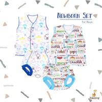 Blessing babywear-baju bayi tangan kutung dan celana POP-NB-B