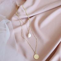 Zodiac Island Layer Necklace