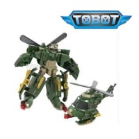 Mainan robot Tobot mini helikopter murah