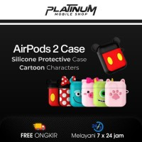 Airpods 2 case mickey / supreme / Brown & cony - Soft Brown