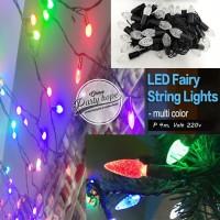 lampu tumbrl pohon rainbow / hias natal dekorasi / LED fairy string