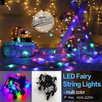 lampu tumbrl bintang rainbow / tumbrl hias / natal / LED Fairy String