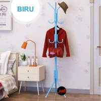 Multifunction Stand Hanger/Hanger Gantungan Baju Tas/Gantungan Berdiri