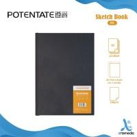 POTENTATE A4 Sketchbook 110 Sheets 100gsm Kertas Buku Gambar & Sketsa