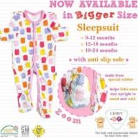 Libby Sleepsuit Jumper Tutup Kaki Bayi Perempuan Laki Laki isi 3Pc