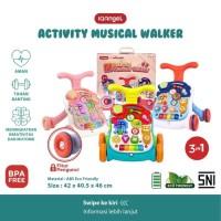 IQAngel Activity Musical Walker 4in1 Mainan Dorongan Bayi Baby Walker