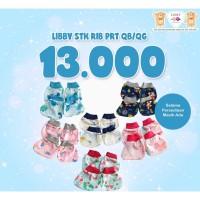 Libby STK Motif Sarung Tangan Kaki Bayi Baru Lahir Mitten Booties Set