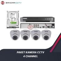 PAKET KAMERA CCTV 4 CHANNEL TERMURAH