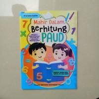 Buku Anak TK PAUD Mahir Dalam Berhitung, belajar berhitung matematika