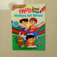 Buku Anak TK PAUD - Cepat Pintar Membaca dan Menulis, belajar menulis