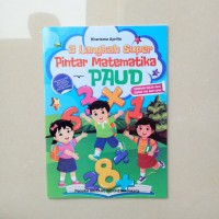 Buku Anak TK PAUD 3 Langkah Super Pintar Matematika belajar matematika
