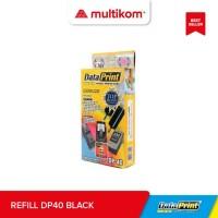 Refill Tinta Suntik Data Print Hitam Black DP 40 DP40 -Printer Canon