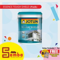 JOTUN PUTIH (WHITE) TOUGH SHIELD 18 LTR / CAT TEMBOK EXTERIOR