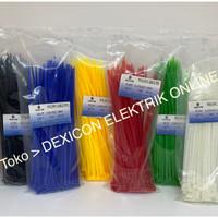 kabel ties 20cm/size 3.6 x 200 mm/cable tie/kabel tie/pengikat plastik
