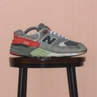 Sepatu New Balance 999 Grey Red not Nike Adidas Eiger Puma Brodo