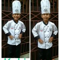 Baju-stelan- kostum profesi koki anak