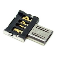 Adapter Konverter USB ke Micro USB OTG