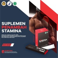 GEHA / Minuman Serbuk Herbal/ Suplemen Penambah Stamina Pria
