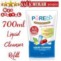 Pure Baby Liquid Cleanser Refill 700ml food / pure cuci botol 700 ml