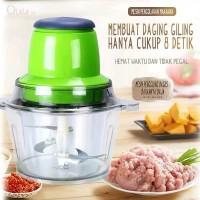 Blender Capsule Cutter Elektrik Meat Grinder Food Processor Blender - Hijau
