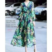 Baju wanita Long Dress Jade ECL import