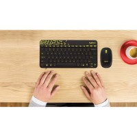 LOGITECH MK240 NANO Paket Wireless Keyboard MK240 & Mouse Combo MK240