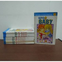 BEKAS SET Buku Komik UFO Baby - Mika Kawamura