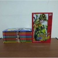 BEKAS SET Buku Komik Yowamushi Pedal, Go! - Wataru Watanabe