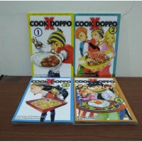 BEKAS SET Buku Komik Cook X Doppo - Jinnosuke Uotsuka