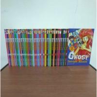 BEKAS SET Buku Komik Ghost Sweeper Mikami - Shiina Takashi