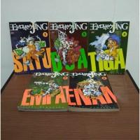 BEKAS SET Buku Komik Jing King Of Bandit - Yuichi Kumakura