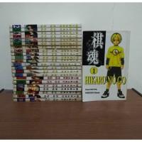 BEKAS SET Buku Komik Hikaru No Go - Yumi Hotta - Takeshi Obata