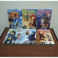 BEKAS SET Buku Komik Iris Zero - Hotaru Takana - Piroshiki