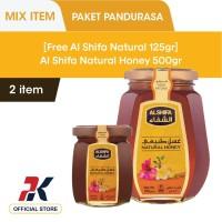 [GRATIS Al Shifa Natural Honey 125gr] Al Shifa Natural Honey 500 gr