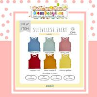 Ardenleon Sleeveless Shirt / Kaos Kutang Anak - Irzola Blue, L 2-3years