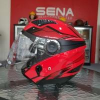 Helm Zeus 610 DRED 0014 RED