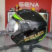 Helm Zeus 610 Black 0017 Green