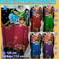 Daster Kalong Kencana Ungu Label Hijau Jumbo, Daster Lowo Jumbo