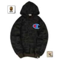 jaket sweater hoodie Bape x champion premium terbaru murah