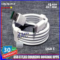Kabel Data Oppo Reno 10x Zoom ORIGINAL 100% Flash Charge USB C