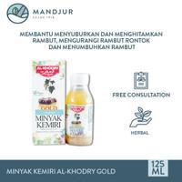 Minyak Kemiri Al-Khodry Gold (Sari Minyak Kemiri Plus) - Minyak Rambut