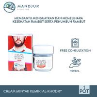 Cream Minyak Kemiri Al-Khodry - Penumbuh Rambut, Jambang, Kumis