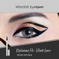 WARDAH OPTIMUM HI-BLACK LINER EYELINER WATERPROOF ORIGINAL